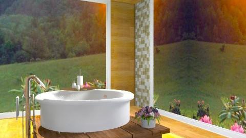relex in the bath - Modern - Bathroom  - by sahfs