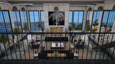 Design 385 Above San Francisco - Living room  - by Daisy320