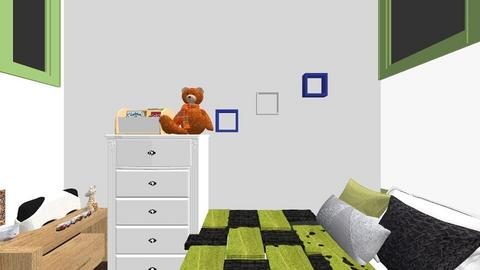michael rooms - Bedroom  - by miks miks