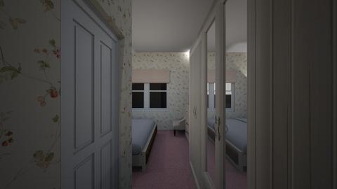 Tiny Hotel Room 3 - Bedroom  - by SammyJPili