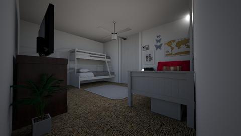 Emma - Bedroom  - by sunshinebee233