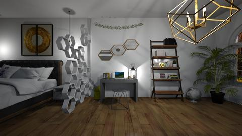 Bee inspired office - Office  - by madaline