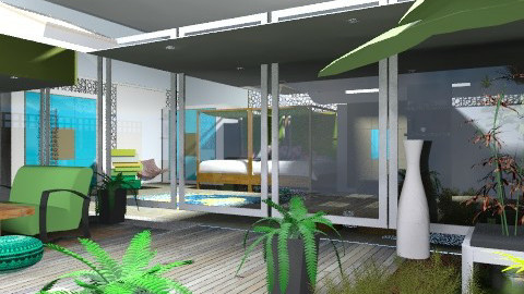 Forest Deluxe. - Modern - Garden  - by Interiors by Elaine
