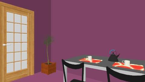 Soggiorno e sala da pranzo - Vintage - Kitchen  - by alessia arcelli