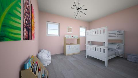 Twin Girls Room - Living room  - by dian10