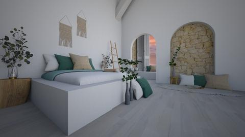 _s l e e p y_ - Country - Bedroom  - by Marlisa Jansen