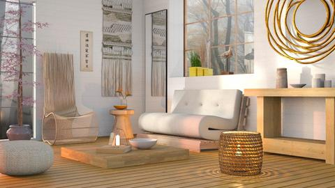 Multi functional Futon - Minimal - Living room  - by Sally Simpson