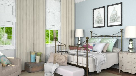Bedroom for Katherine - Vintage - Bedroom  - by Carliam