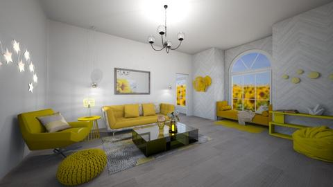 Sunflower Living - Living room - by mommamanson