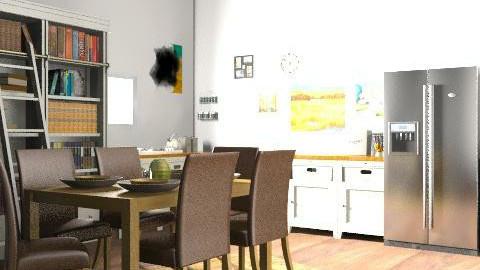 Fresh Kitchen - Retro - Kitchen  - by georgiamorris