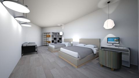 bedroom desain - Bedroom  - by fathi althaf alkiram