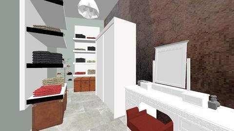 upstairs - Bedroom - by anamariaispas