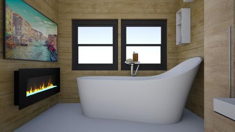 Modern Cabin Bathroom - Modern - Bathroom  - by Anu and Janu