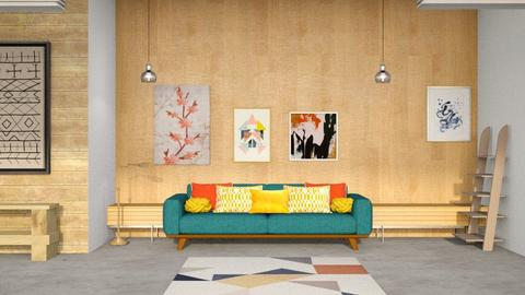 Conranian - Modern - Living room  - by CitrusSunrise