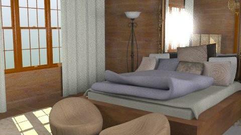 wood east - Minimal - Bedroom  - by chania