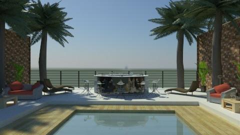 resort - Modern - Garden  - by Cejovic Andrijana