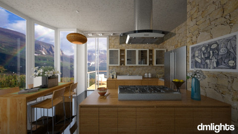 E15KitchenSpace - Kitchen  - by DMLights-user-1063855