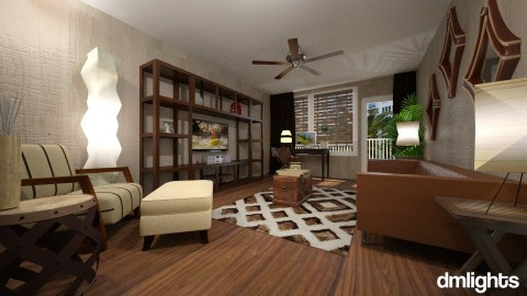 4 Boris LR - Minimal - Living room - by LucretiaC