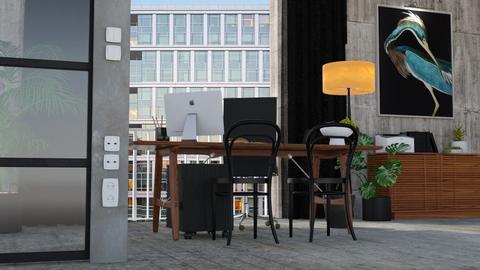 Industrial Office - Modern - Office  - by HenkRetro1960