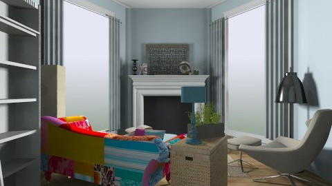 Reading Nook - Eclectic - Living room - by Jessica J