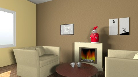 ChristmasNight - Modern - Living room - by Zana