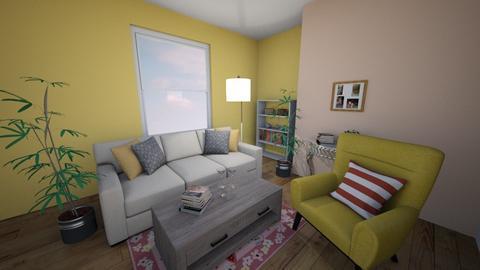 reading room - Minimal - Living room  - by sonakshirawat175