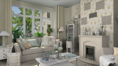 Pastel Living - Living room - by user_2734851
