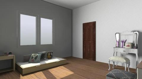 Meu Quarto - Vintage - Bedroom - by barbaralopessoares5