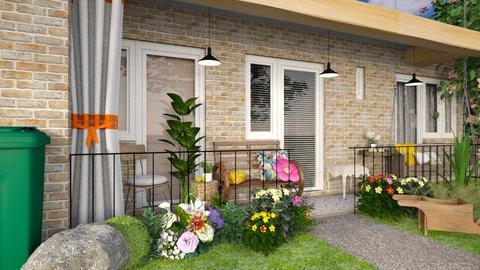 Balcony - Garden  - by Inna_Inas