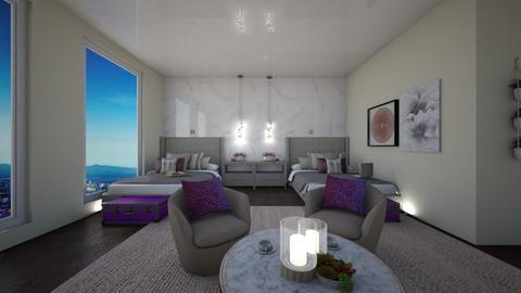 My Girls Bedroom - Modern - Bedroom - by FabulousGirl35