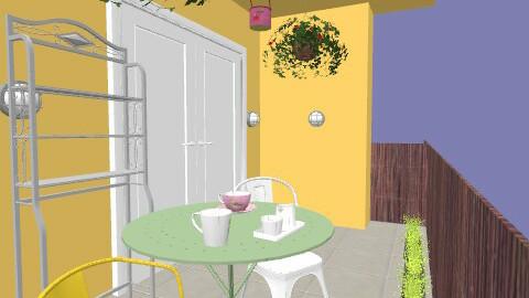 banjavčić balkon-loggia-žooto2 - Eclectic - Garden  - by tatjana_novak