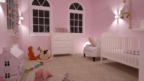 Meisjeskamer 2 - Classic - Kids room  - by Perta