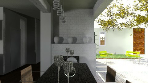 ECO ALDEA CACTUS - Glamour - Kitchen  - by domuseinterior
