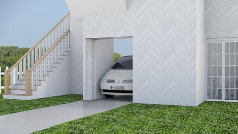 White modern house - Modern - by matildabeast