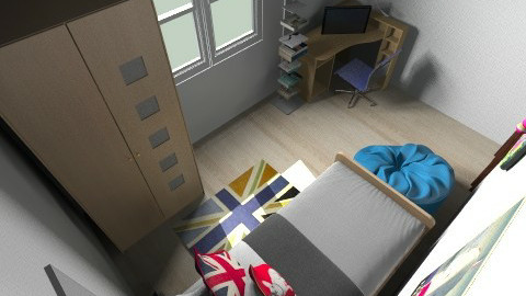 Aleks room - Kids room - by Petya Shopova