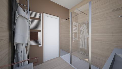 Cologno solo bagno nost8 - Bathroom - by natanibelung