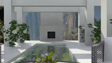Concrete garden ii - Modern - Garden  - by hunny