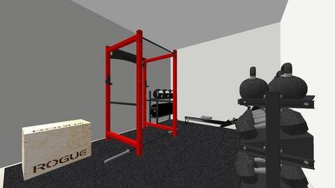 Shed Gym - by rogue_c55bc1be979f7b1eaaaafac477ebf