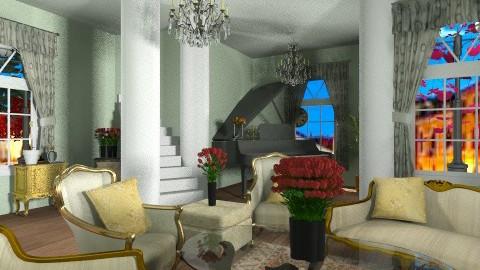victorian - Vintage - Living room  - by kafele