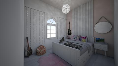 teen girl original style - Modern - Bedroom  - by jade1111