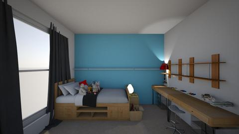Gregs Room - Kids room - by tashahadweh