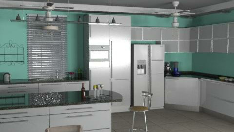 Kitchen4 - Modern - Kitchen  - by Bibiche