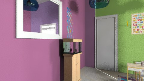 56 - Eclectic - Kids room  - by Kristi Yagwit