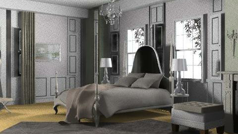 Hotel Room - Classic - Bedroom  - by minerva8a