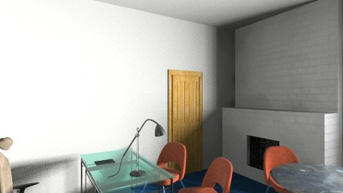 oficina virtual - Eclectic - Office - by augusto coello