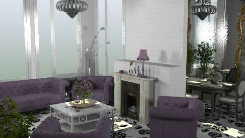 Reflected - Glamour - Living room  - by HazelMP