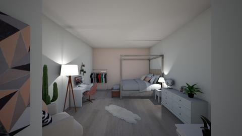 bedroom - Rustic - Bedroom  - by femkeelfr