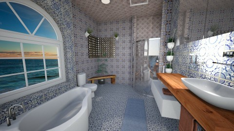 New House Master Bath 2 - by neosidhe