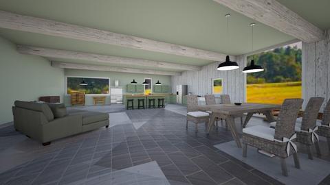 Mordern Rustic - Kitchen  - by Celia_123
