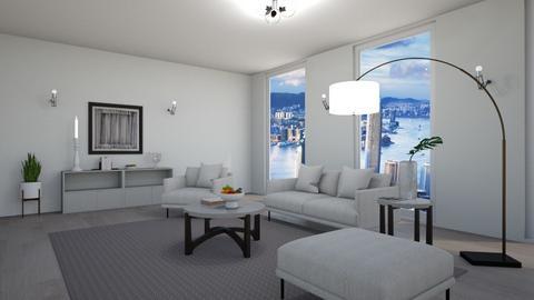 Minimalistic - Living room  - by Martina0205